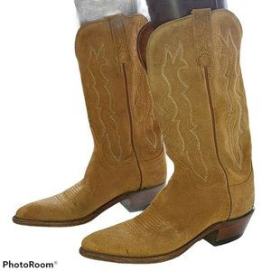 Lucchese 1883 Suede Cowboy Boots Women's 7.5 B